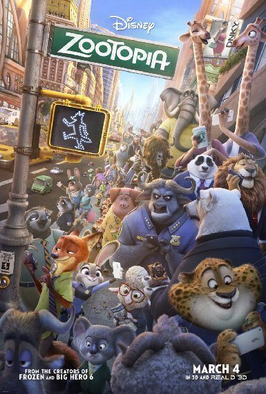 Zootopia is a must watch if you love animations