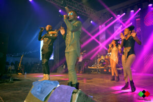 Sauti Sol take the stage at Eldoret Sports Club