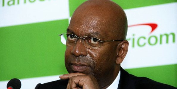 Bob Collymore CEO of Safaricom