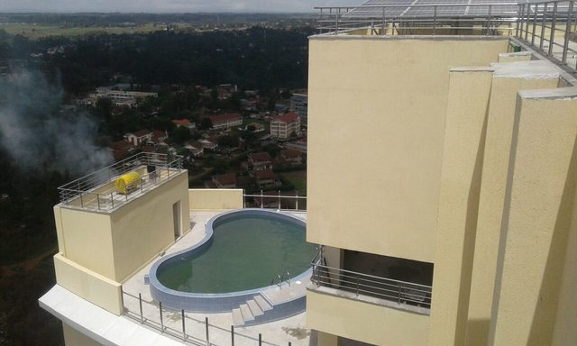 MUPS Plaza Swimming Pool on the roof