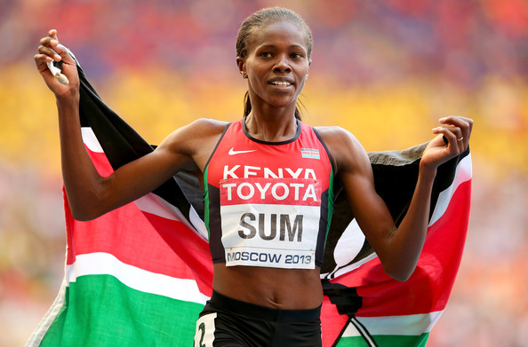 Eunice Sum is the current African and Commonwealth Games Champion in the 800 meters