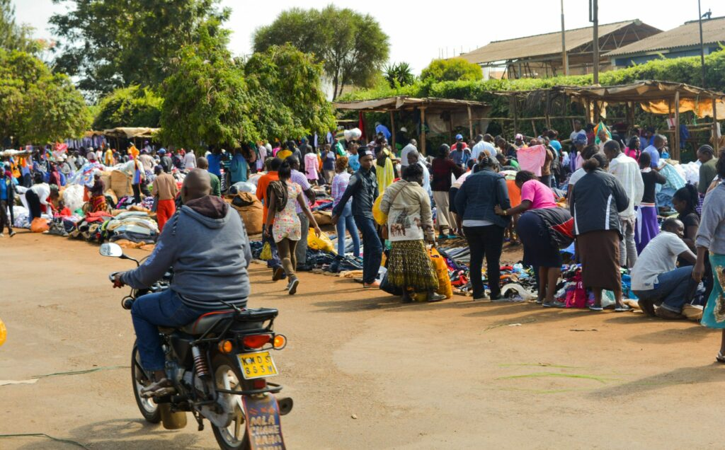 In Eldoret on Friday everything stops and everyone regardless of age, race, religion, tribe or economic status head to west where the Market is held.