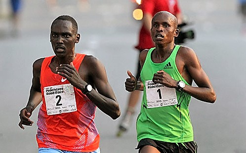 Mathew Kosorio won Ndakaini Half Marathon held in 2015 after a 2 year ban