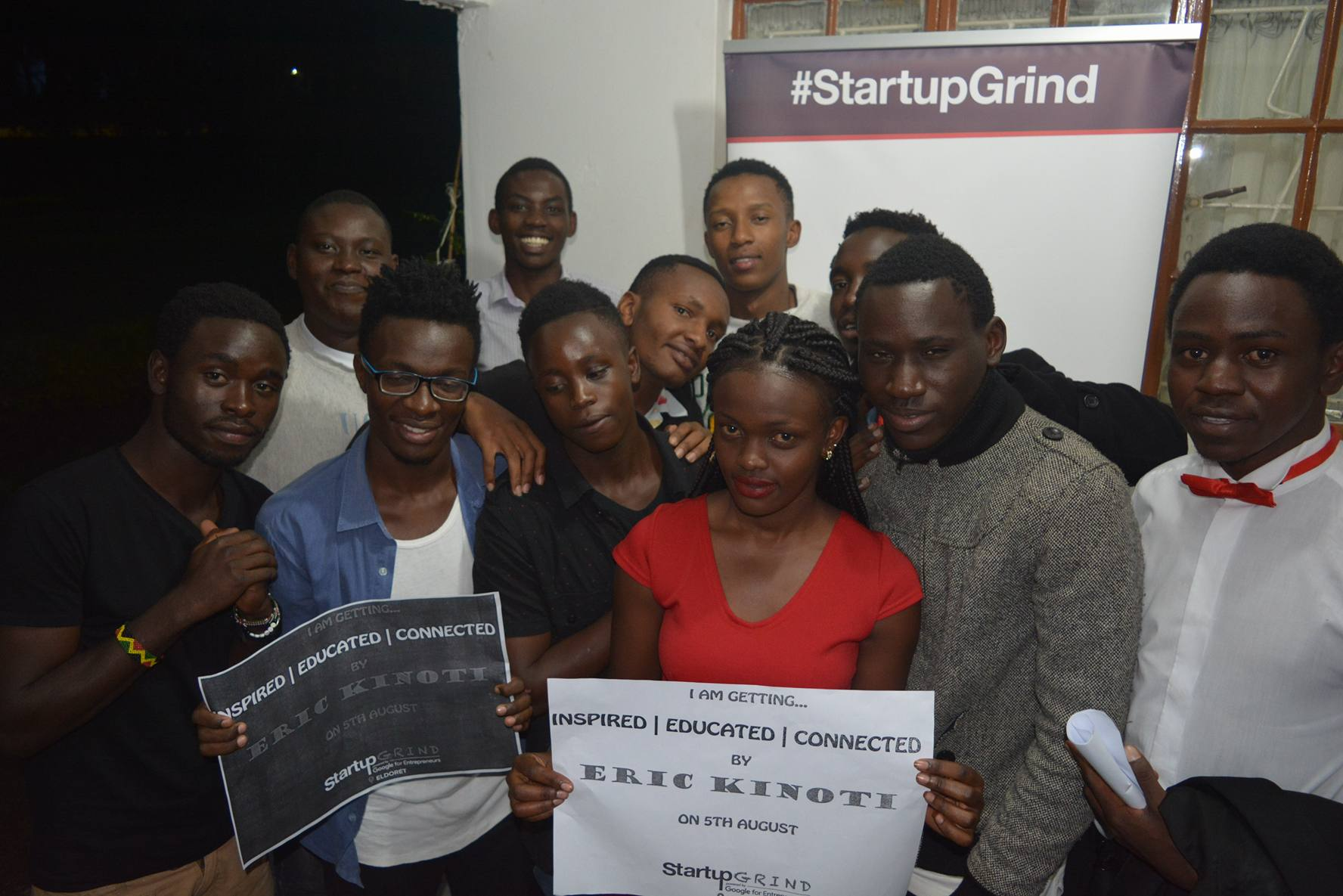 Baraka works with Startup Grind, Eldoret to inspire, educate and connect entrepreneurs in Eldoret