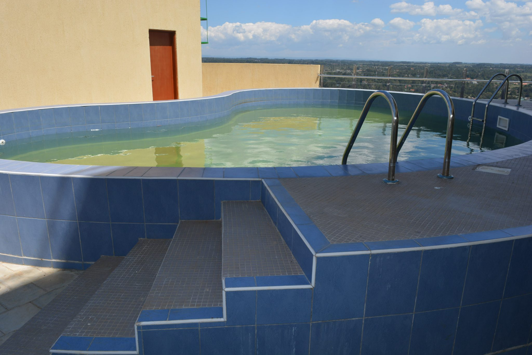 Swimming Pool on the 23rd Floor