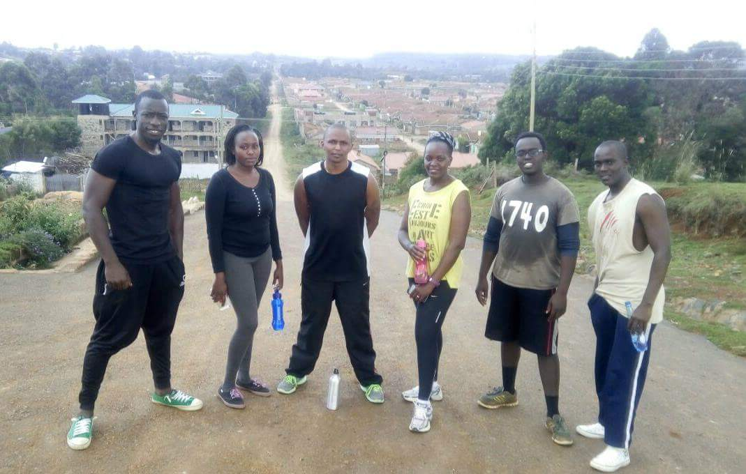 Noah has also founded a free for all fitness track team, dubbed TEAM FITNESS