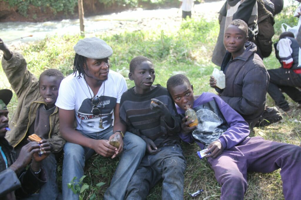 Street Kids at Eldoret Rescue Centre