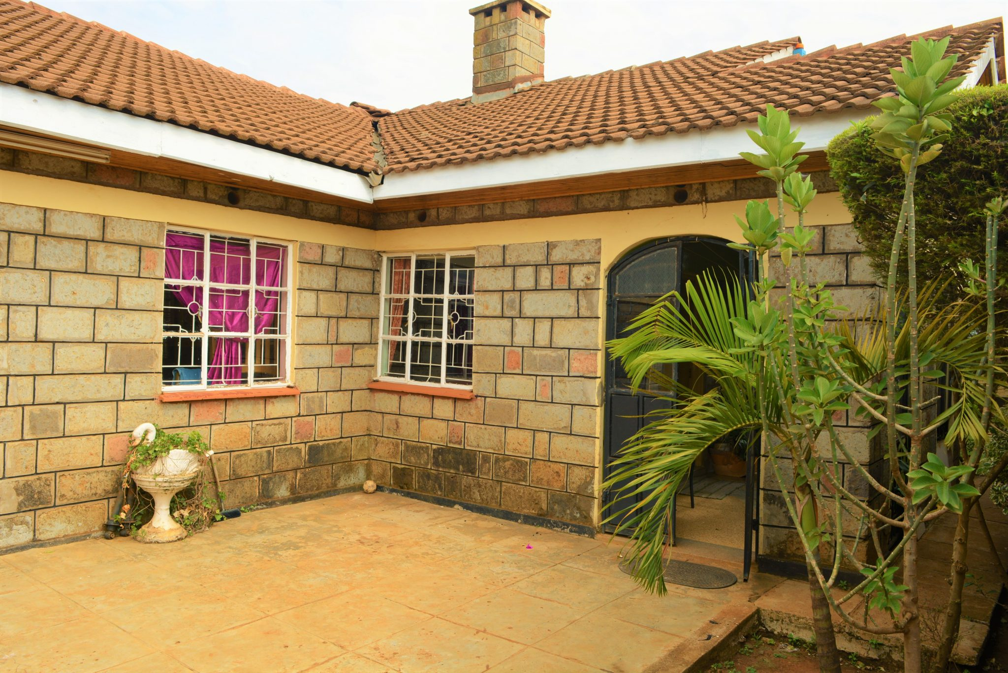 Modern Four Bedroom Bungalow