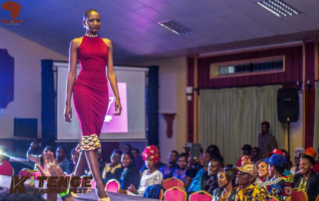 Sharon Kosgey at Kitenge Fashion Fest II