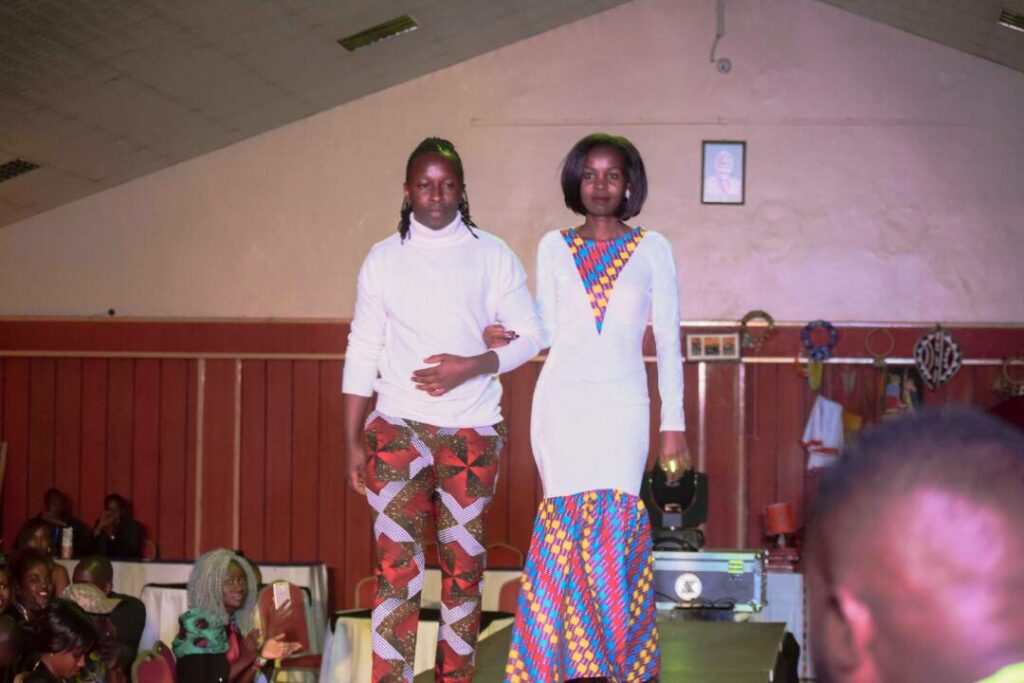 Mjukuu and Verol Kosgei at Kitenge Fashion Fest II