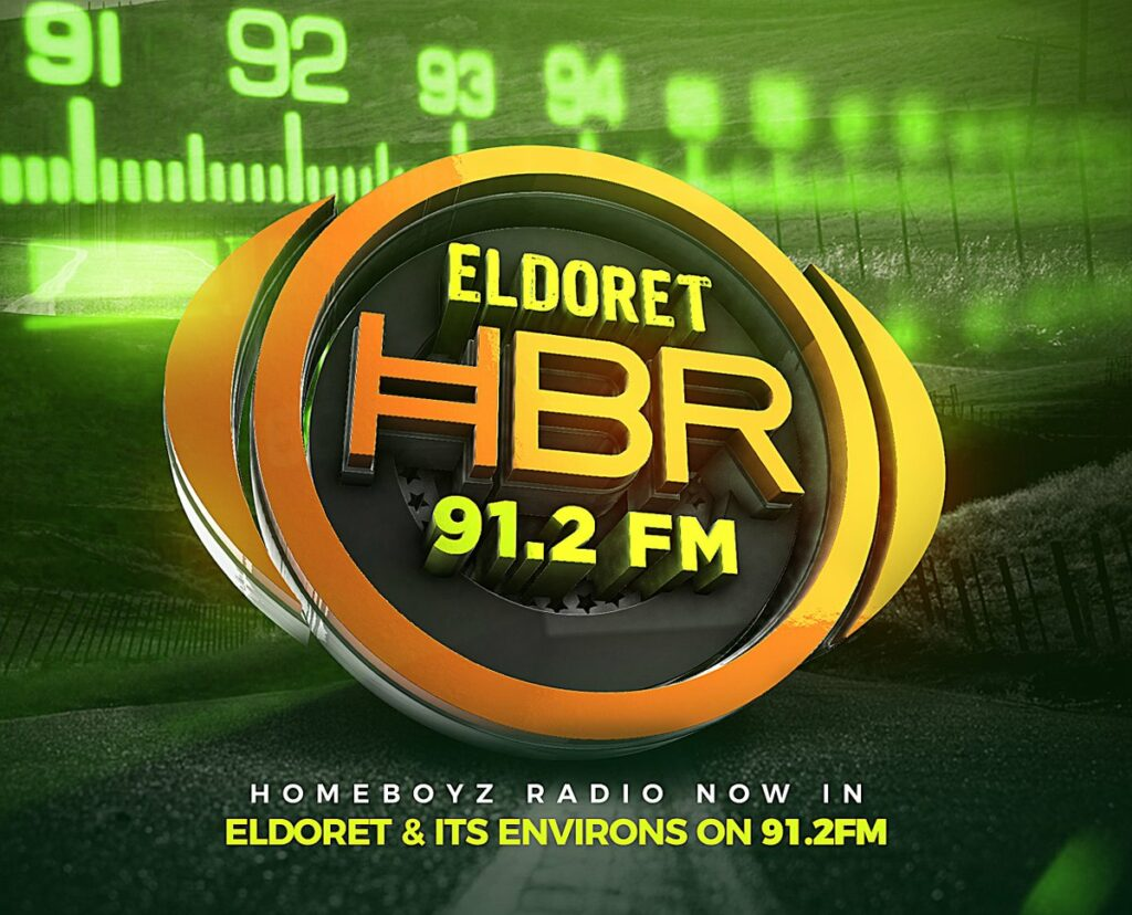 HomeBoyz Radio now in Eldoret on 91.2 FM