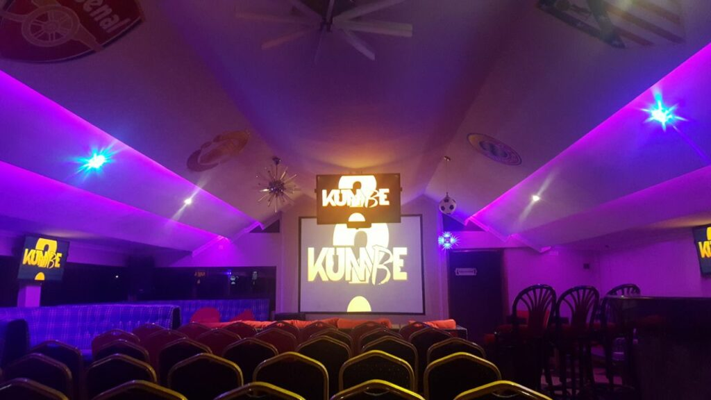 64 Resort Skylux lounge setting for Kumbe movie screening