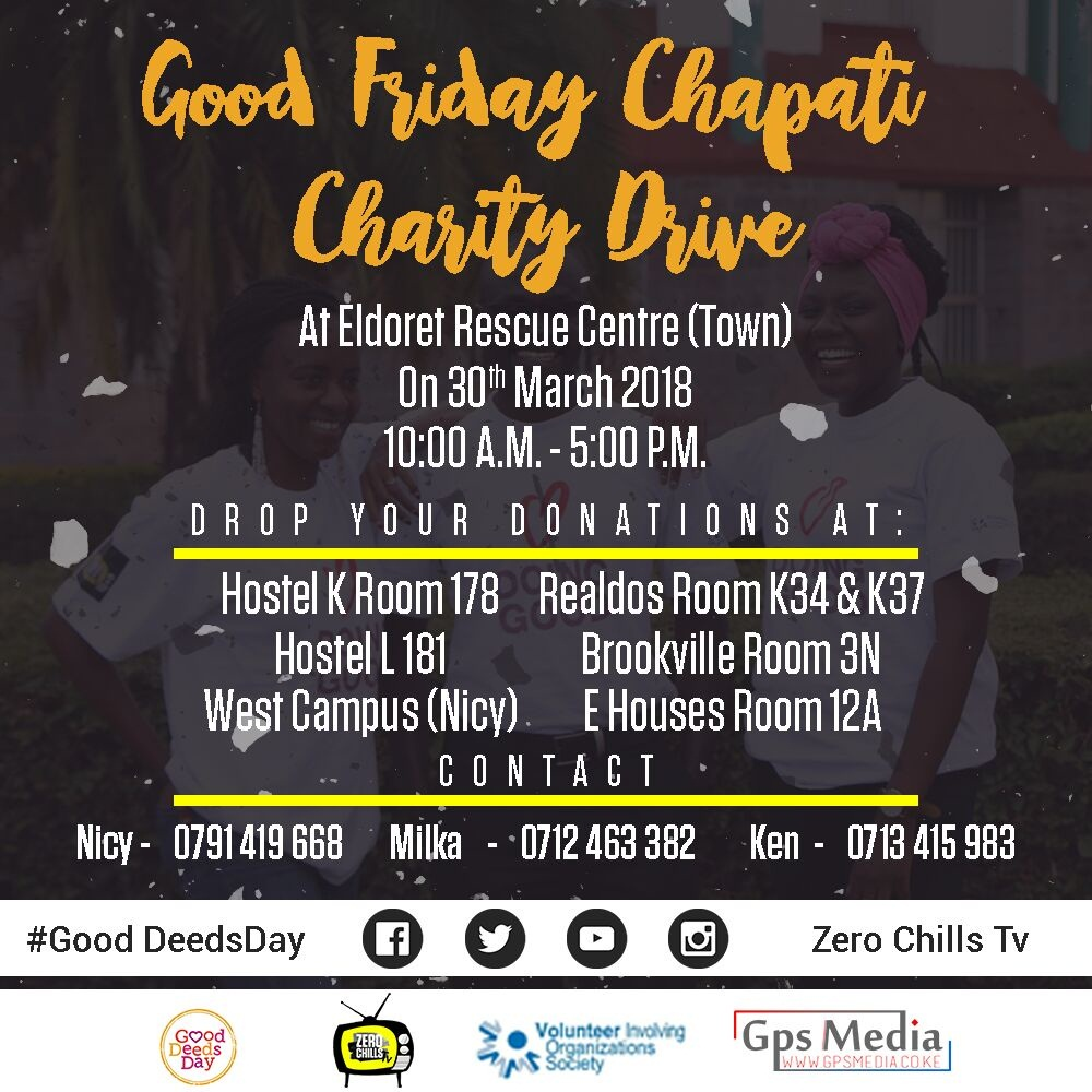 Good Friday Chapati Drive Easter 2018