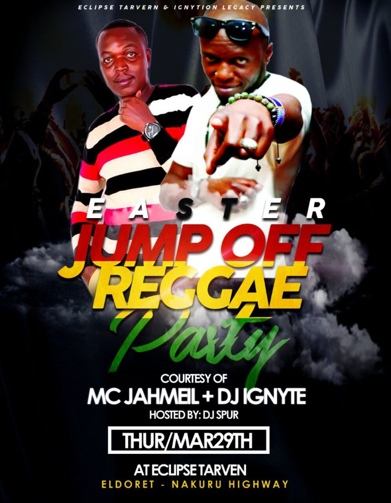 Eclipse Tavern Jump Off Reggae Easter party