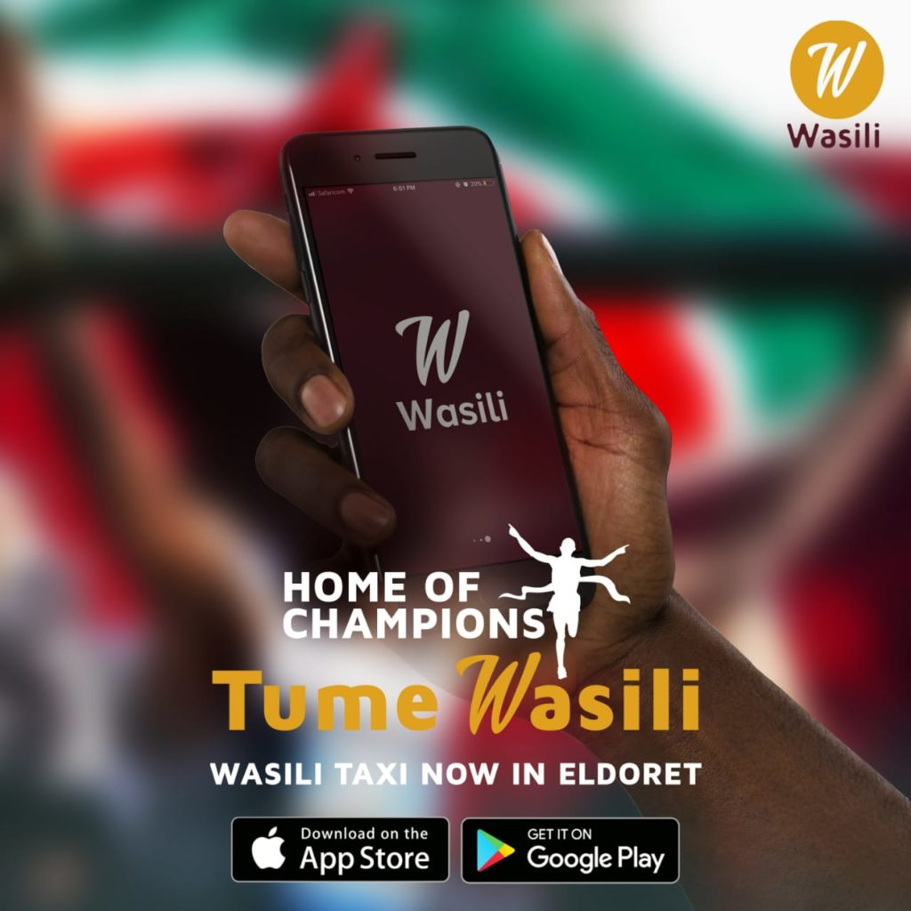 Wasili is the newest taxi hailing app in Eldoret