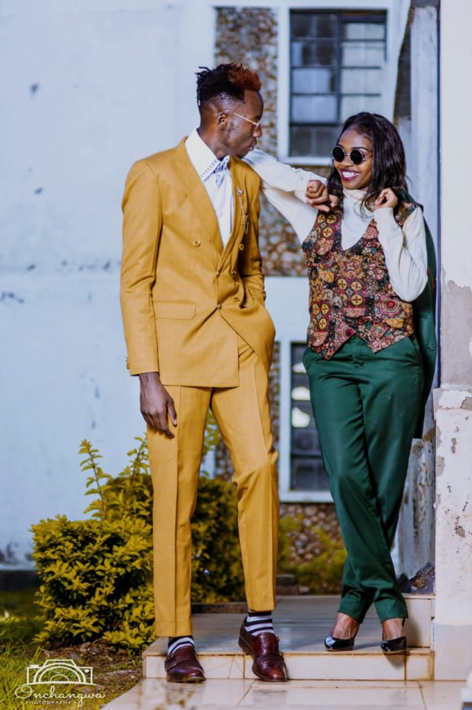 Two models idolising the idea of dating in Eldoret