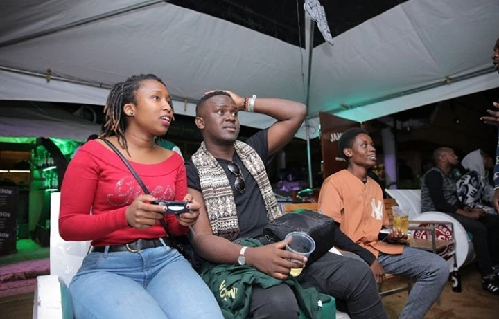 Gaming zone at Jameson Connect Party