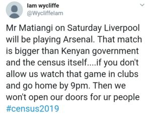 KOT talking about the game btn Arsenal and Liverpool