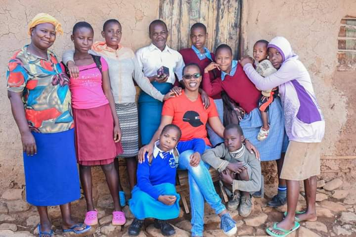 Beneficiaries of work her dream foundation