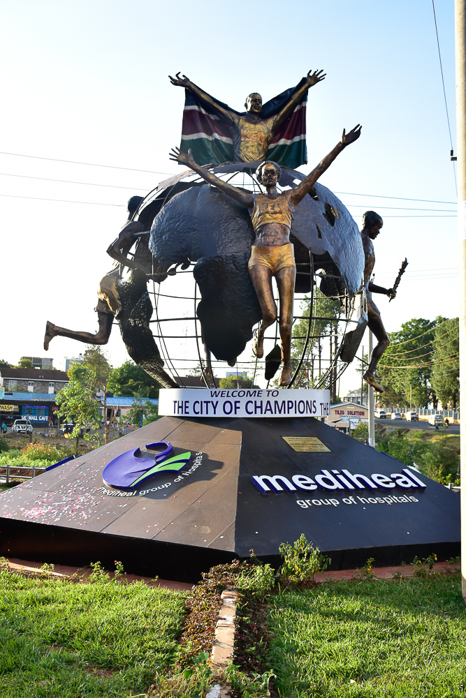 Eldoret City of Champions Monument