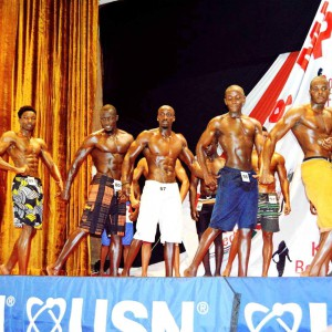 Noah at the just concluded Mr. Kenya Finals