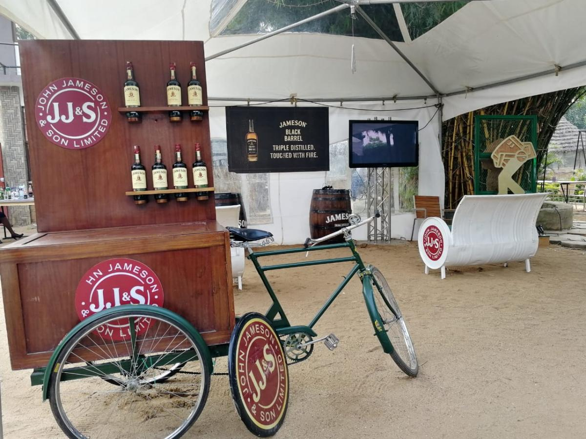 Jameson Connects Eldoret 2019 Setup 1
